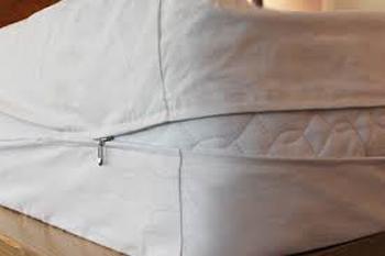 Organic cotton mattress allergy encasement