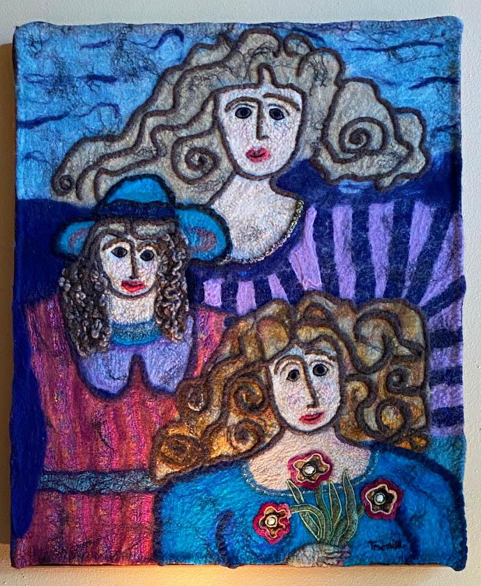 Felted Wool Art