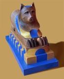 Egyptian Cat Artwork