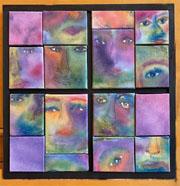 faces artwork