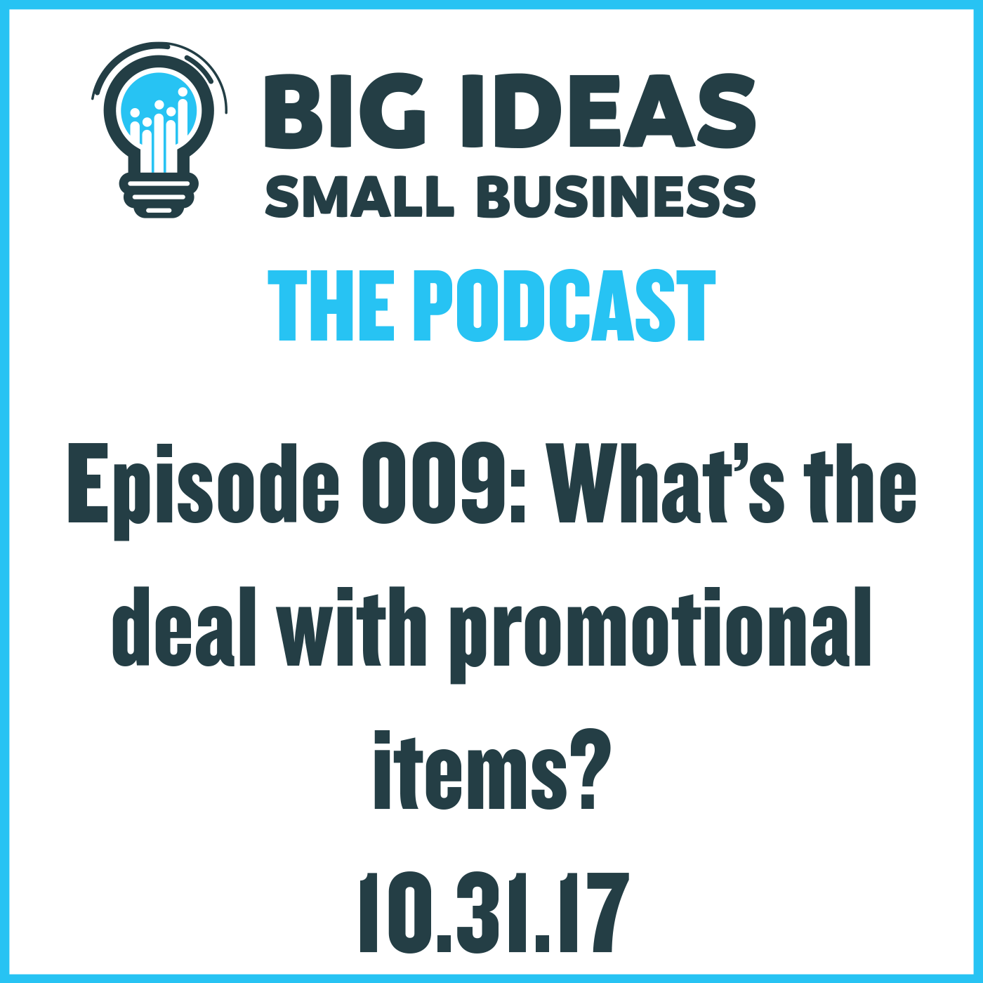 What's the deal with promotional items?