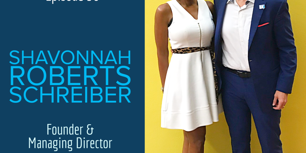 """The role relationships play in the """"marketing mix."""" with guest Shavonnah Roberts Schreiber"""