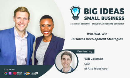 Win-Win-Win Business Development strategies with guest Will Coleman, CEO of Alto Rideshare