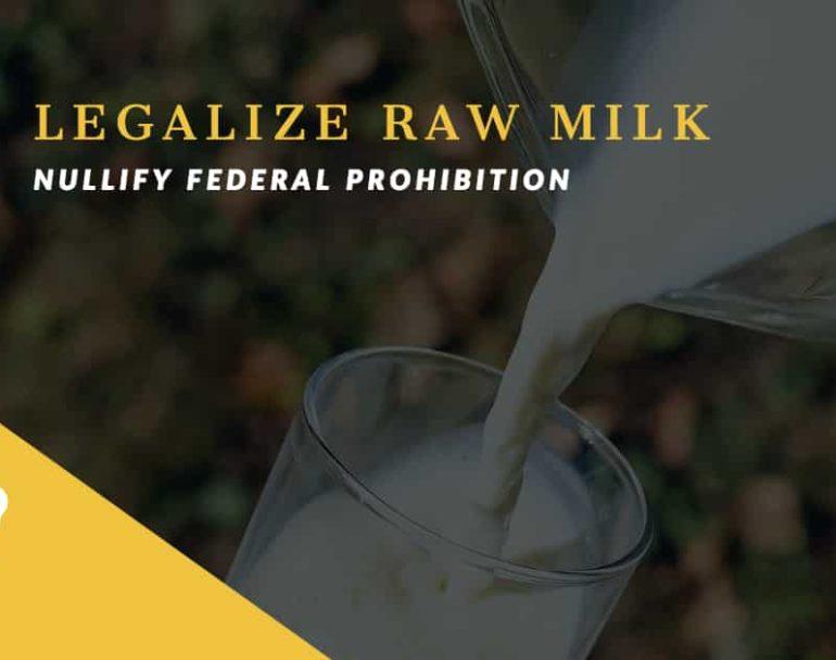 Legalized Milk