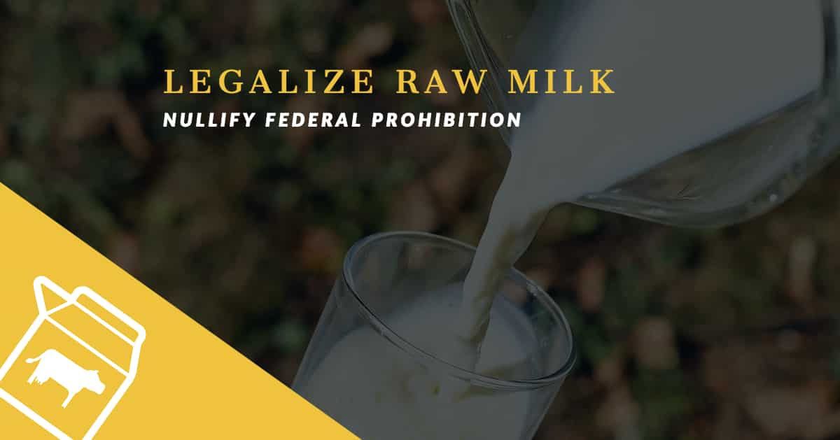 Legalized Milk