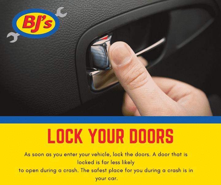 Lock Your Door Car Care Tips
