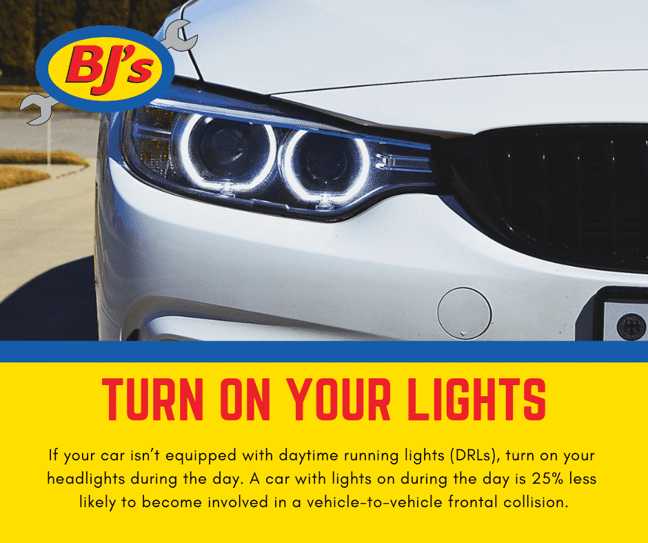 Turn on Your Lights Car Care Tips