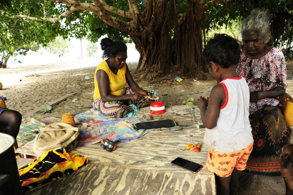 Art under Tree