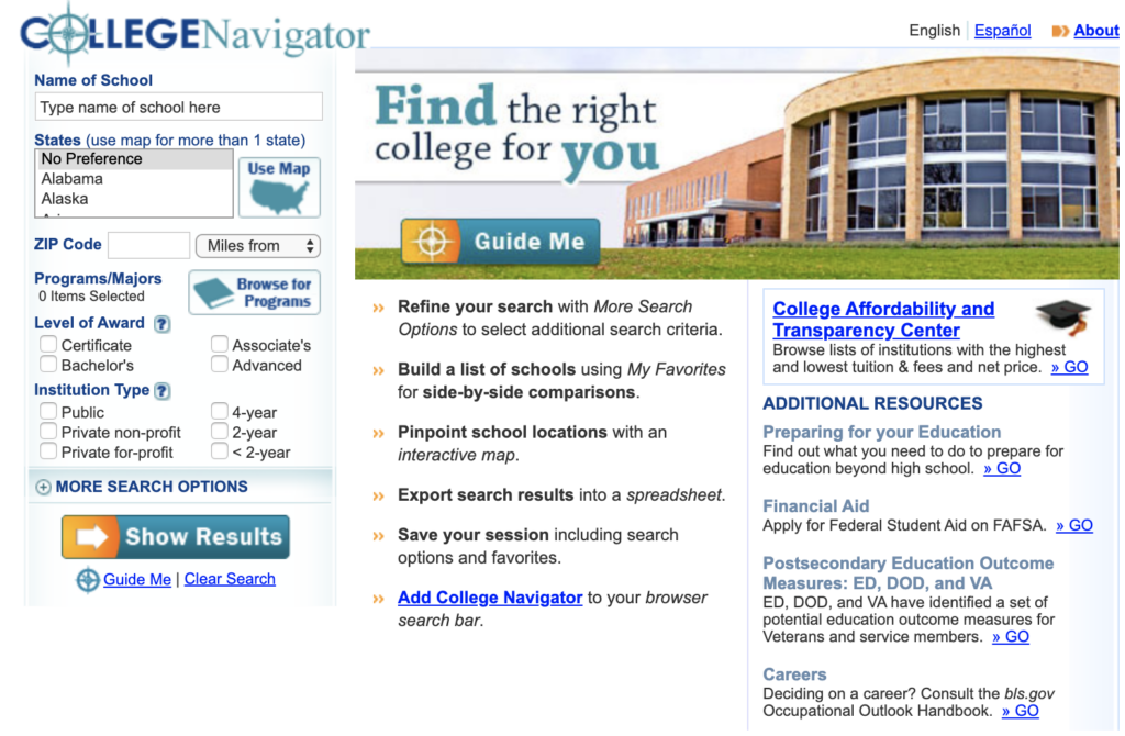 stand out college application