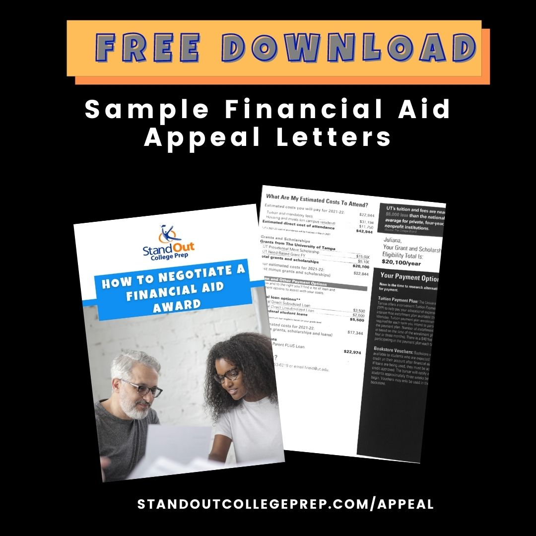 Sample Financial Appeal Letters