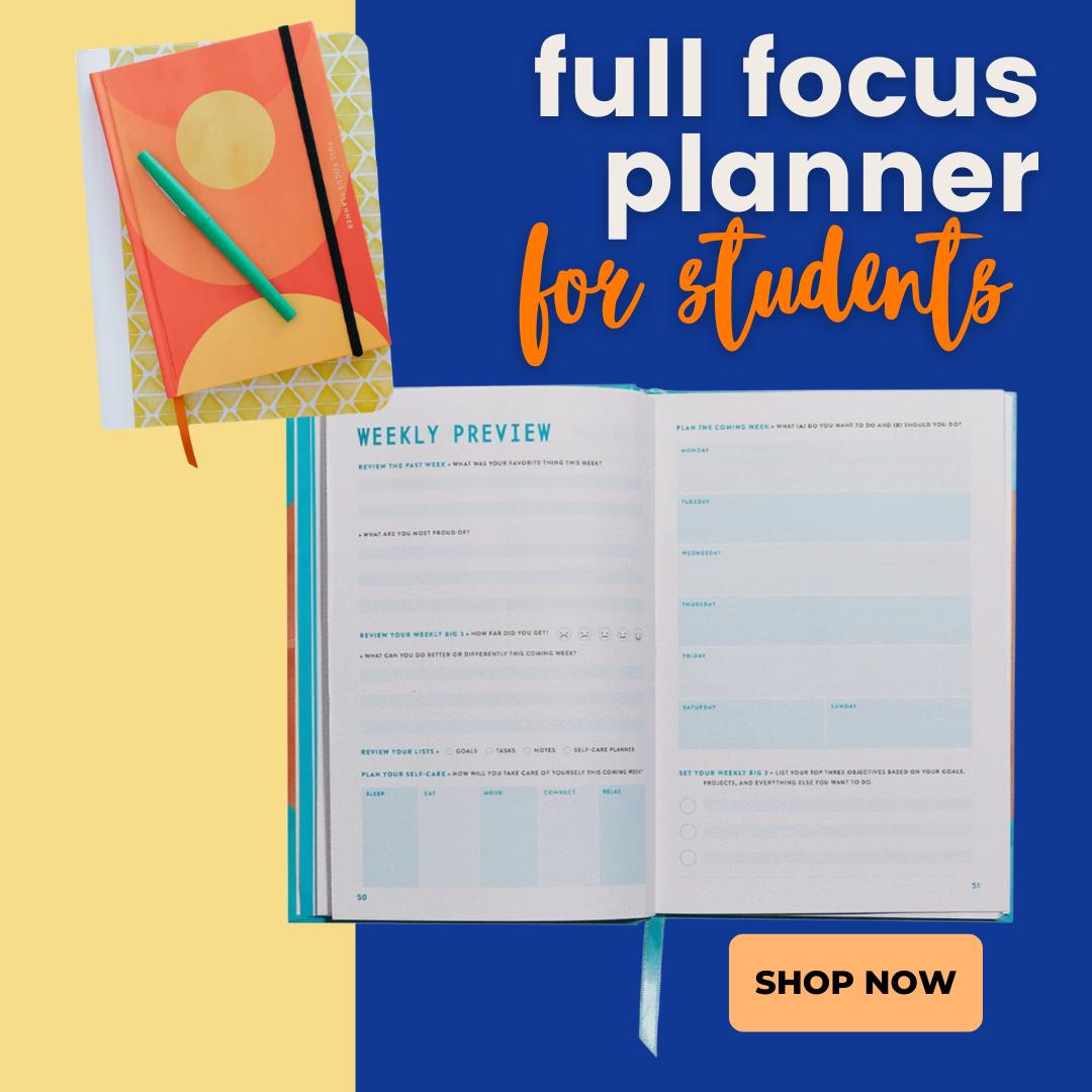 focus planner