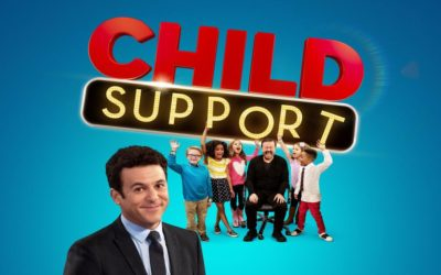 Ricky Gervais Shoots Child Support Episode at TV-1. No Laugh Track Required.