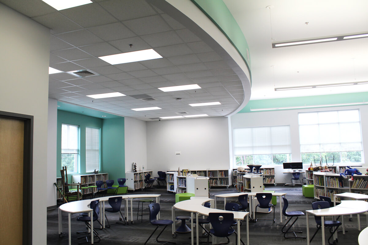 Barrow Elementary School Media Center