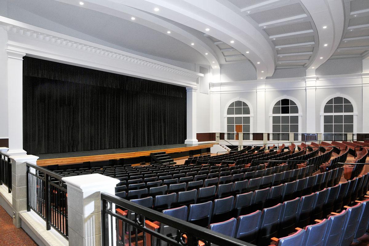 Monroe Fine Arts Stage