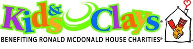 Ronald McDonald Kids & Clays Logo