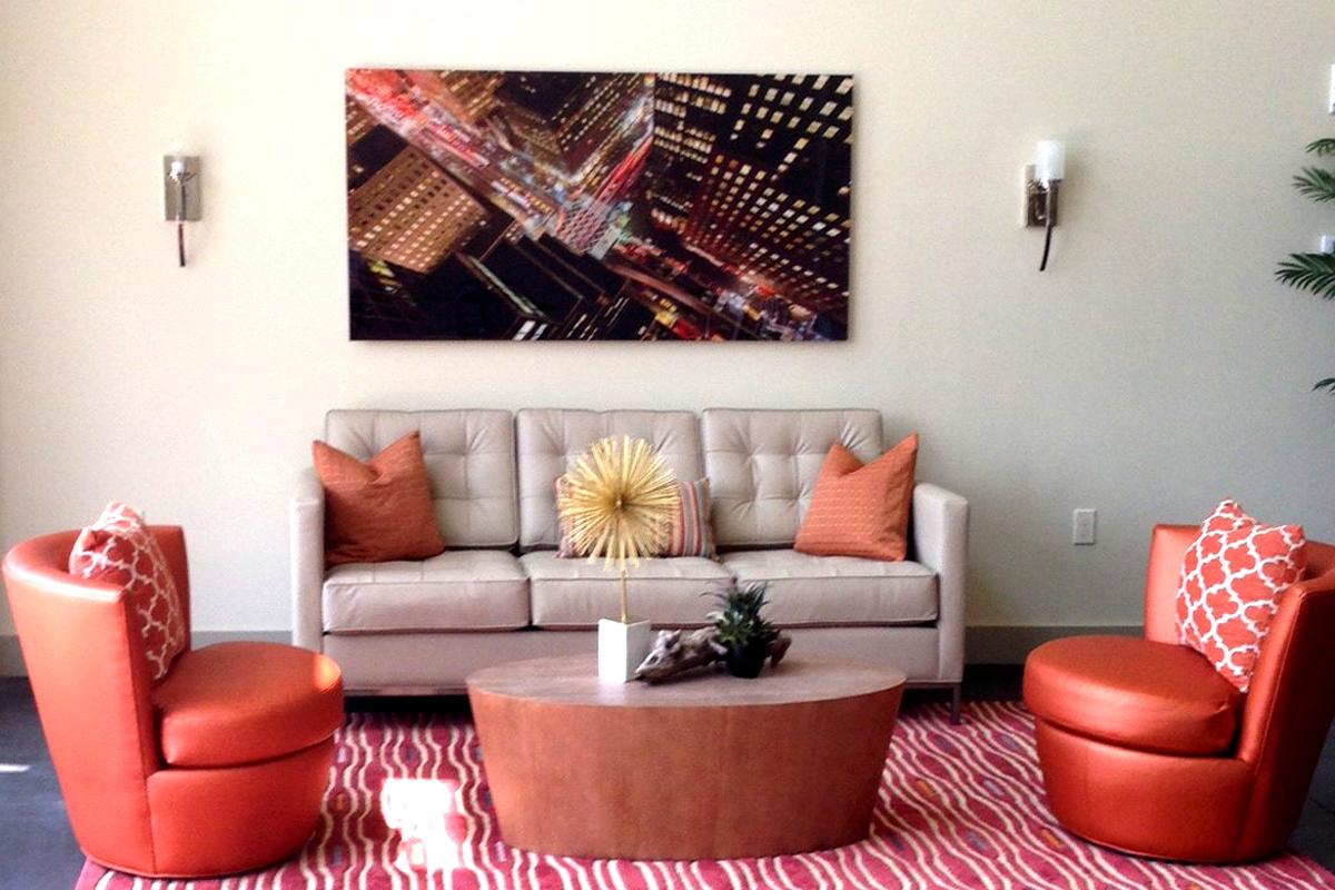 Mercer Lofts III Lounge Area