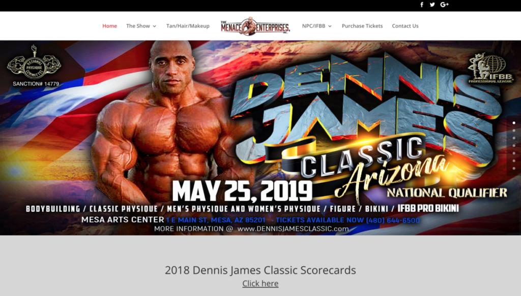 Dennis James Classic