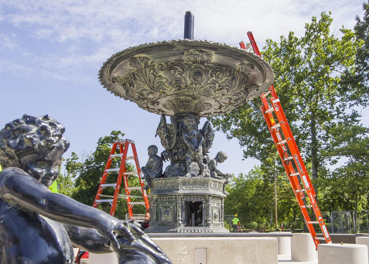 Studebaker-Fountain-Restoration