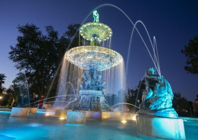 Studebaker Electric Fountain, Leeper Park, South Bend, IN