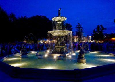 Studebaker Electric Fountain, Leeper Park