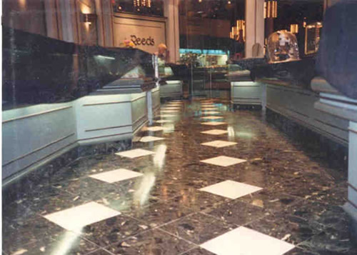Marble Stripping & Refinishing