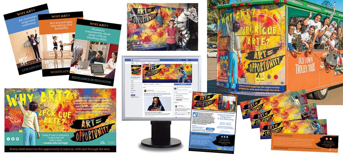 DeMarco Design Art=Opportunity Campaign Materials