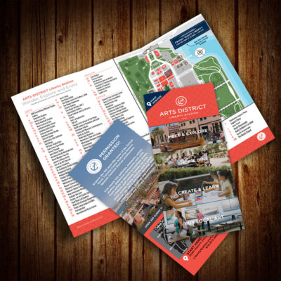 ARTS DISTRICT Liberty Station: Promotional Materials