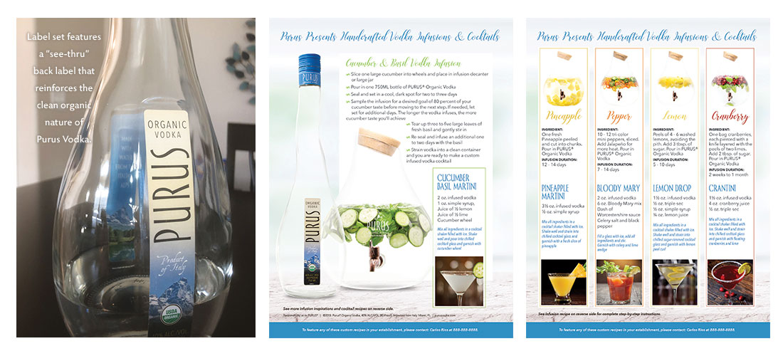 Purus Vodka Sell Sheet