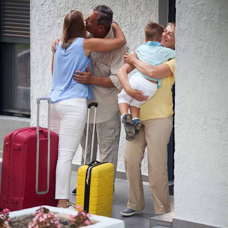 family reunion valet parking