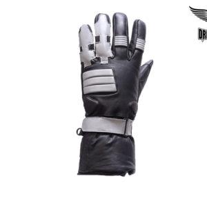 Full Finger Motorcycle Gloves With Gel & Velcro Strap