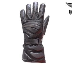 Biker Full Finger Riding Gloves With Velcro Strap