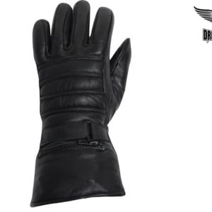 Motorcycle Gloves With Velcro Strap & Lining