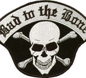 Bad to the Bone Skull Patch