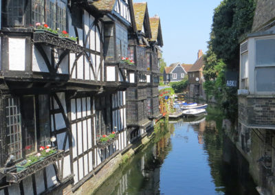 Canterbury River in England