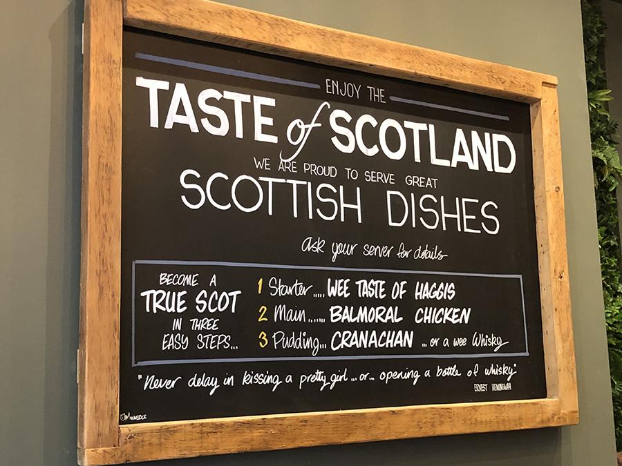 Taste of Scotland Edinburgh