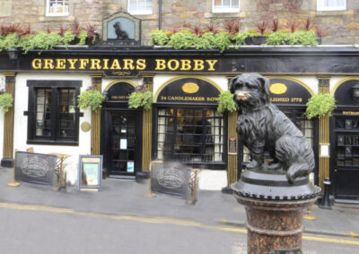 Edinburgh Scotland Bobby Dog Statue