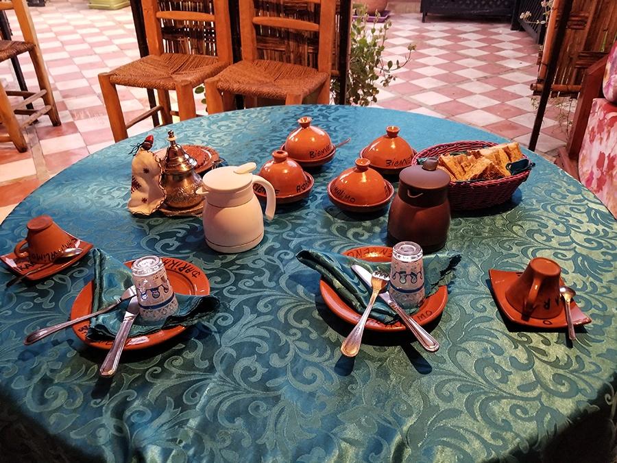 Breakfast in Marrakesh