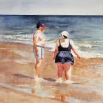 Assateague Watercolor 16x20
