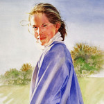 Julia Watercolor 24x19
