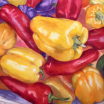 Peppers Watercolor painting