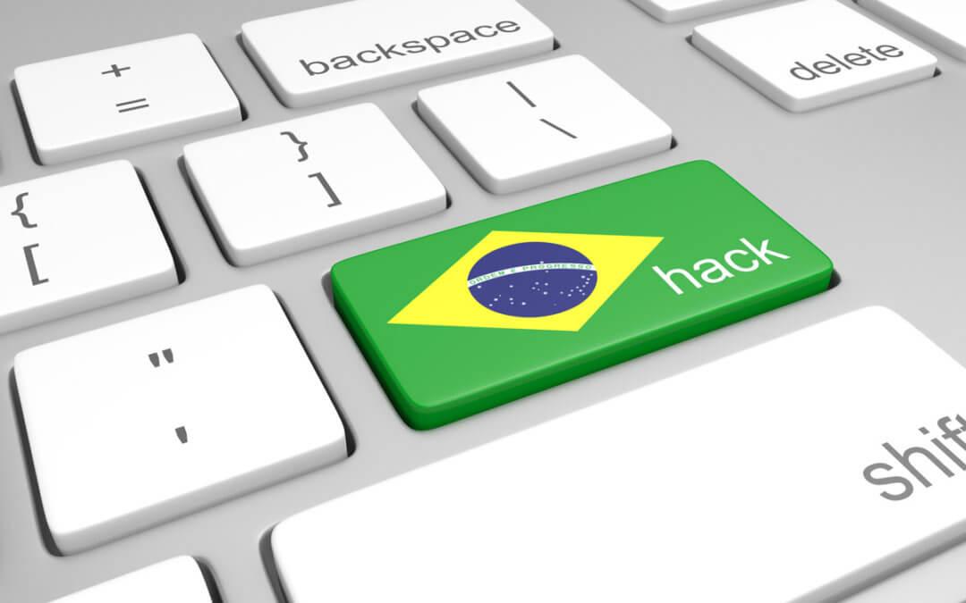 Brasil é alvo de ciberataques globais