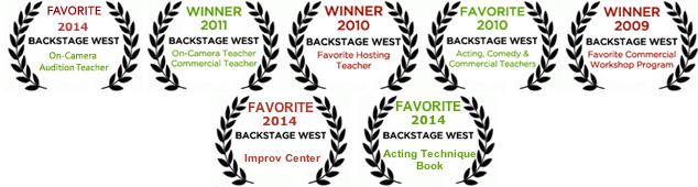 Backstage West Awards