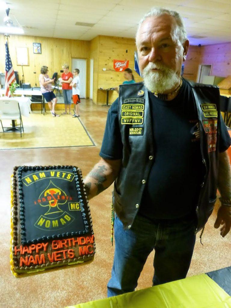 Happy Birthday NAM VETS MC . Well Done Boss.