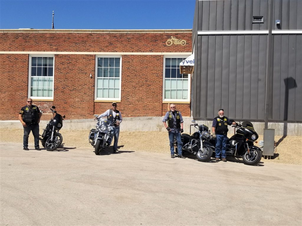 NR 2018 Outside Motorcycle Museum, Sturgis