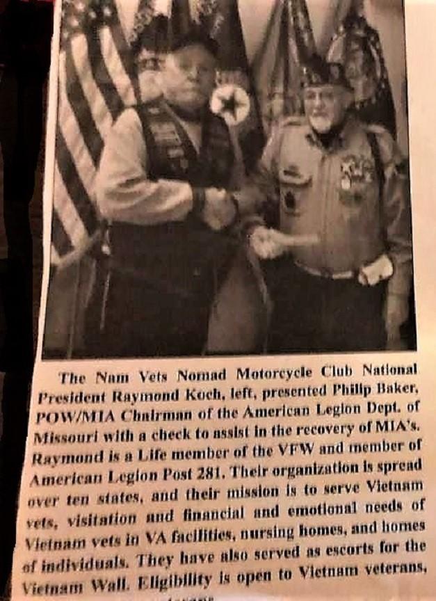 Boss always put'n Veterans & the NVMC first