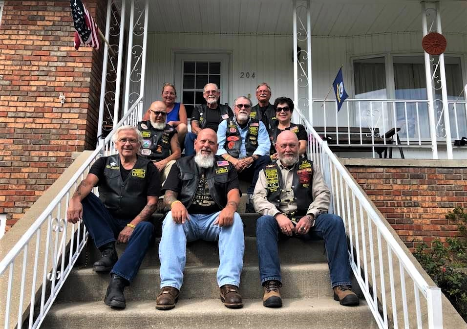 NE Patch In, Aug. 2020 Welcome Home Brothers !