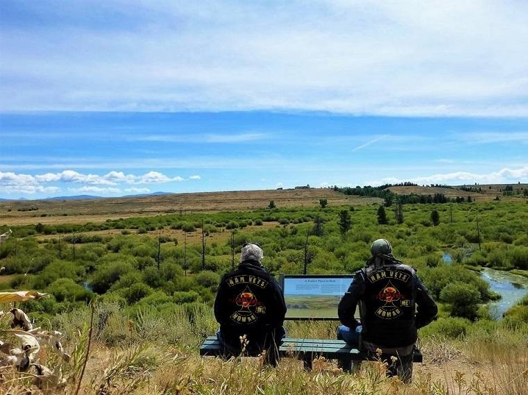 Sit'n in Silence, Big Hole Battlefield, MT  2018