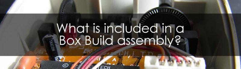 box build assembly