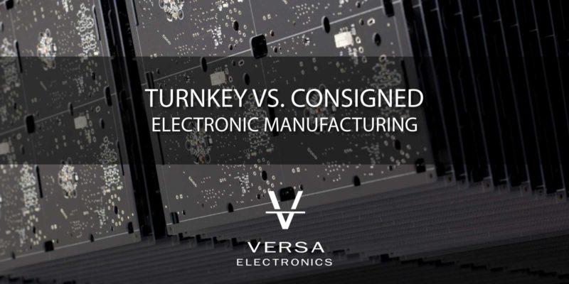 electronic turnkey manufacturing