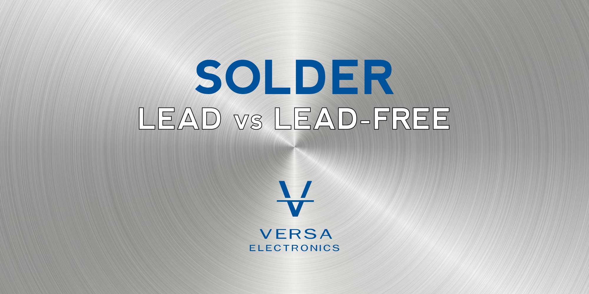 Lead vs Lead-Free Solder